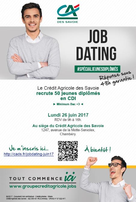 Job dating credit agricole vannes